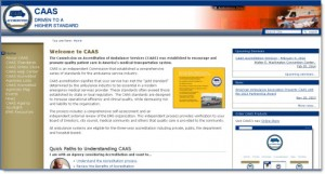 CAAS website home