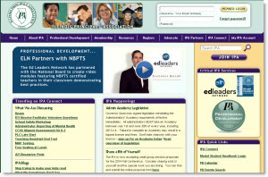 Illinois Principals Website home