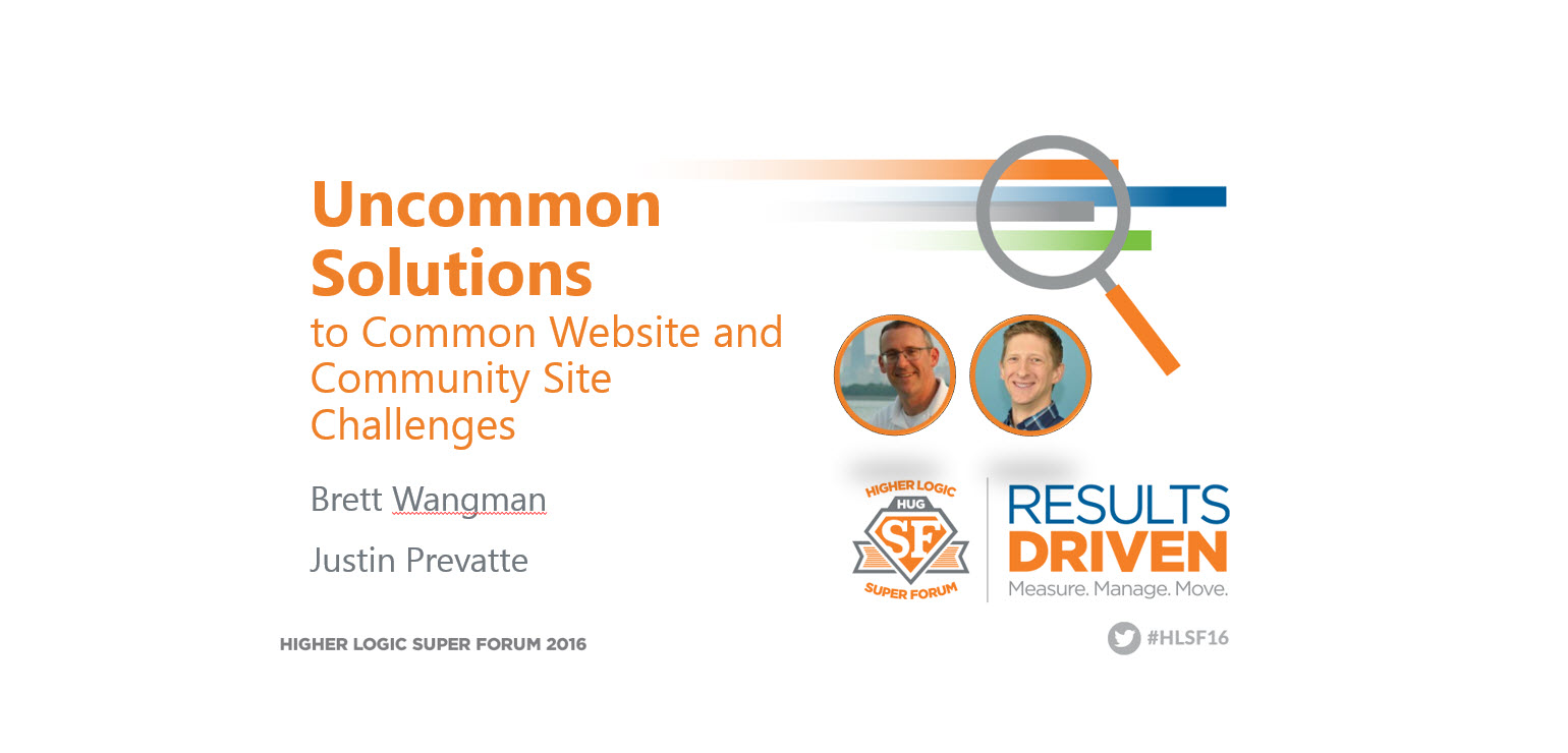 Get Unstuck! Uncommon Solutions to Common Website and ...